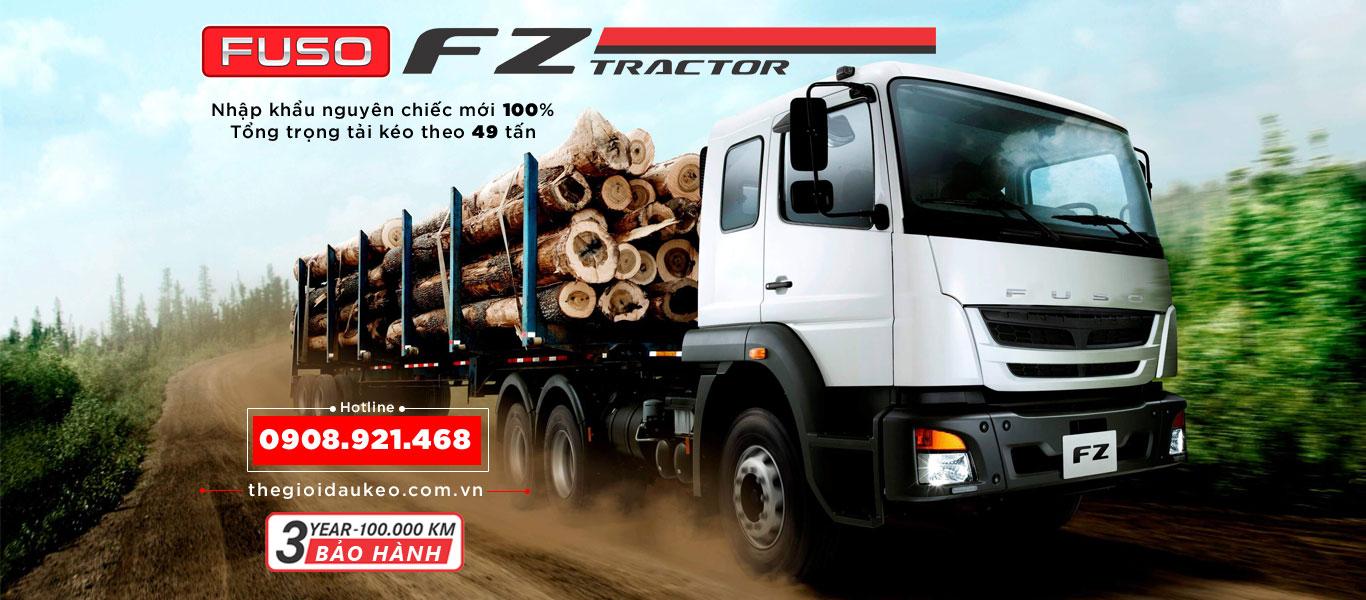Xe đầu kéo Fuso Tractor FZ 49