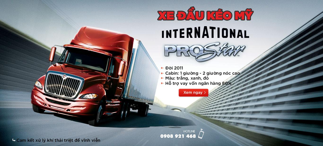 Xe đầu kéo Mỹ International Prostar Maxxforce